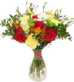 bukiet kwiatów wiosennych, z dostawą za 0 złotych