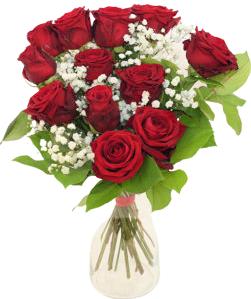 bukiet 12 czerwonych róż , kwiaciarnia internetowa Kwiaty Portal, dostawa darmowa cała Polska