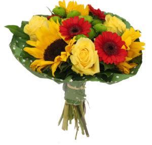 kwiatami z okazji imienin