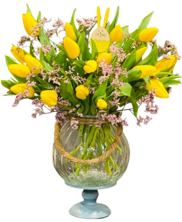 Wyślij bukiet tulipanów na Święta Wielkanocne
