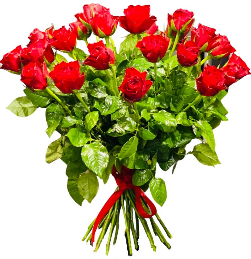 Zamów online w kwiaciarni Warszawa Bukiet 20 Róż Czerwonych