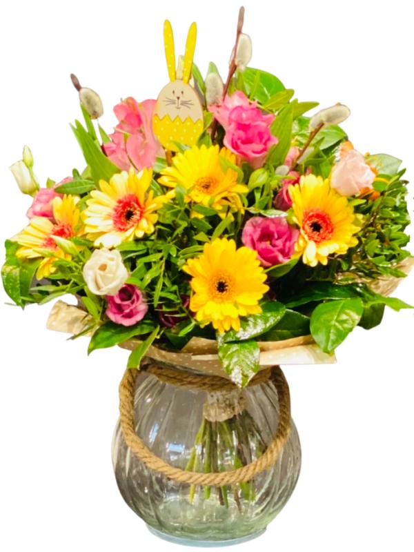 prześlij bukiet świąteczny zamów online w kwiaciarni Warszawa