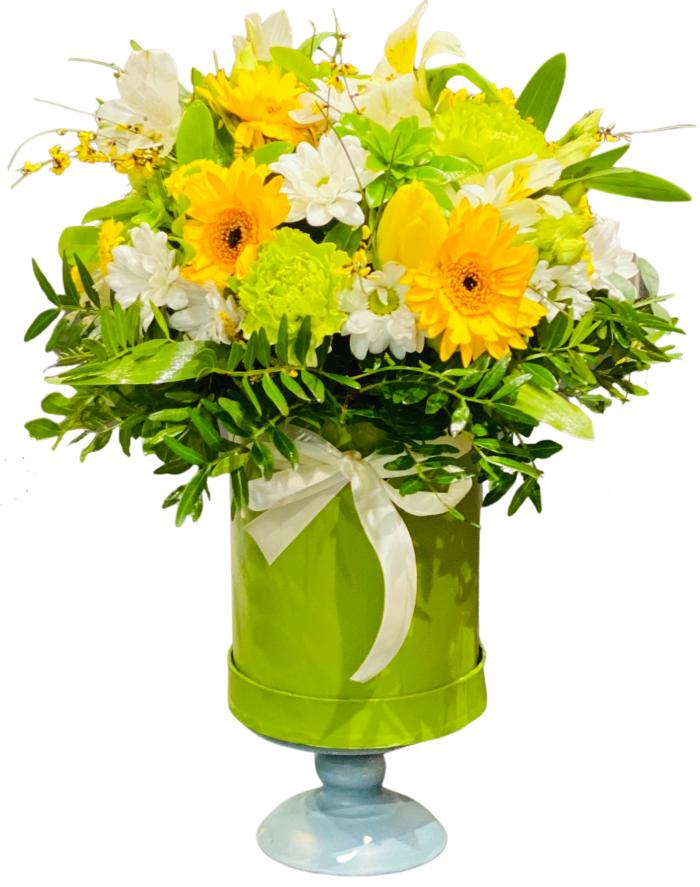 Flower Box na Święta Wielkanocne-kwiaciarnia internetowa szczecin