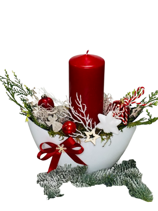 stroik bożonarodzeniowy rękodzieło , prezent na święta Bożego Narodzenia z dostawą na terenie całej Polski