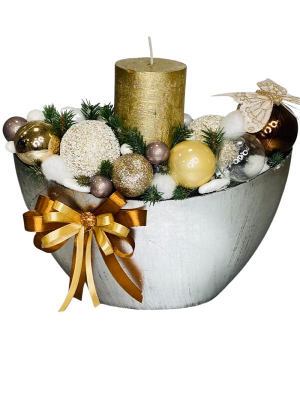 stroik na święta Bożego Narodzenia, kwiaty na święta Bożego Narodzenia, dostawa kwiatowa Warszawa, Internet florist Warsaw