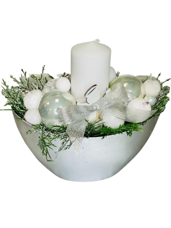 ozdoby bożonarodzeniowe, stroik na święta rękodzieło