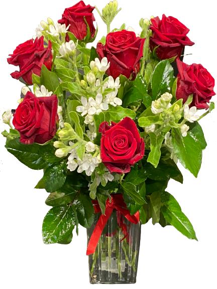 bukiet czerwone róże kwiaciarnia Kraków kwiatowa poczta z dostawą Kraków