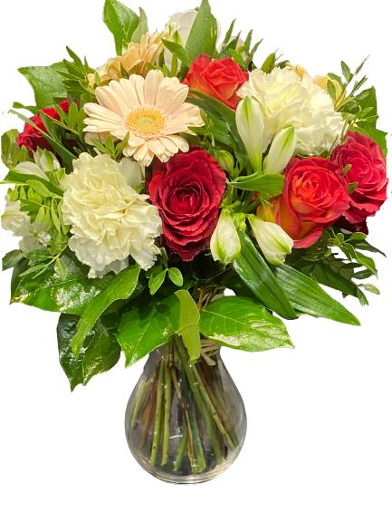 Bukiet kwiatów z dostawą poczta Szczecin kwiatowa przesyłka