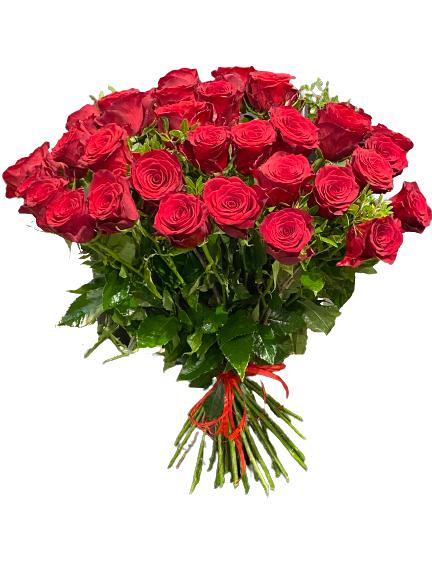 30 czerwonych róż z dostawą pocztą do Warszawa
