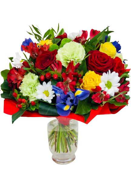 Bukiet moc życzeń, dostawa bukietów na każdą okazję, kwiaty na urodziny kwiaciarnia internetowa Suwałki
