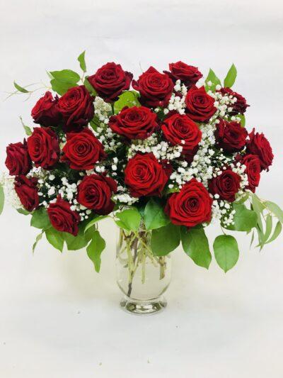 kwiaciarnia Sopot online, poczta i kwiatowa dostawa Sopot, bukiet róż czerwonych z dostawą